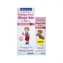 Fluor Kin Infantil Colutorio 500 mL + Regalo* Fluor Kin Pasta Anticaries 50mL