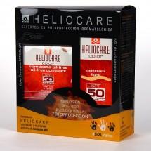 *Heliocare Gel Crema Color Light Spf 50 50ml + Compacto Light Oil-Free