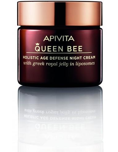 Apivita Queen Bee Holistica Antienvejecimiento Crema De Noche Con Jalea Real Fresca 50Ml