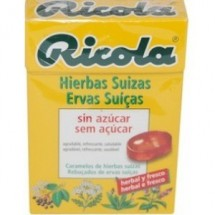 Ricola Caramelos Hierbas Suizas sin azucar