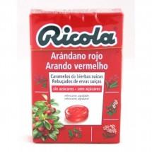 Ricola Caramelos Arandano Sin Azucar 50g