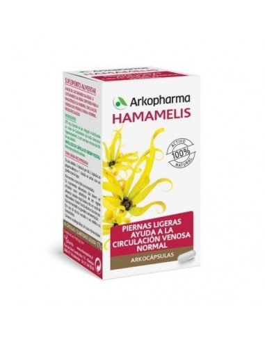 Arkocapsulas Hamamelis 220mg 45 Capsulas