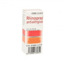 Rhinospray Antialergico Nebulizador Nasal 12ml