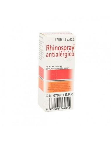 Rhinospray Antialergico Nebulizador Nasal 12ml