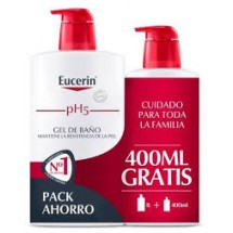 Eucerin Gel 1000 mL +Eco...